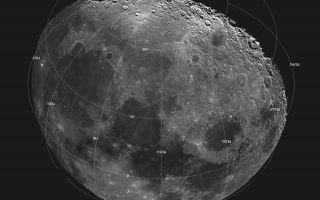 "<h1>PIA00128:  Moon - 18 Image Mosaic</h1><div class=""PIA00128"" lang=""en"" style=""width:800px;text-align:left;margin:auto;background-color:#000;padding:10px;max-height:150px;overflow:auto;""><p>This mosaic picture of the Moon was compiled from 18 images taken with a green filter by Galileo's imaging system during the spacecraft's flyby on December 7, 1992, some 11 hours before its Earth flyby at 1509 UTC (7:09 a.m. Pacific Standard Time) December 8. The north polar region is near the top part of the mosaic, which also shows Mare Imbrium, the dark area on the left; Mare Serenitatis at center; and Mare Crisium, the circular dark area to the right. Bright crater rim and ray deposits are from Copernicus, an impact crater 96 kilometers (60 miles) in diameter. Computer processing has exaggerated the brightness of poorly illuminated features near the day/night terminator in the polar regions, giving a false impression of high reflectivity there. The digital image processing was done by DLR the German aerospace research establishment near Munich, an international collaborator in the Galileo mission. The Galileo project, whose primary mission is the exploration of the Jupiter system in 1995-97, is managed for NASA's Office of Space Science and Applications by the Jet Propulsion Laboratory.<br /><br /><a href=""http://photojournal.jpl.nasa.gov/catalog/PIA00128"" onclick=""window.open(this.href); return false;"" title=""Voir l'image 	 PIA00128:  Moon - 18 Image Mosaic	  sur le site de la NASA"">Voir l'image 	 PIA00128:  Moon - 18 Image Mosaic	  sur le site de la NASA.</a></div>"