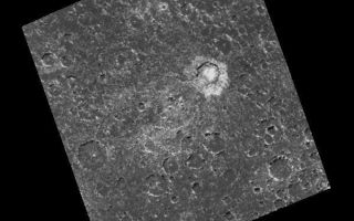 "<h1>PIA01222:  Mass wasting in craters near the south pole of Callisto</h1><div class=""PIA01222"" lang=""en"" style=""width:600px;text-align:left;margin:auto;background-color:#000;padding:10px;max-height:150px;overflow:auto;"">Craters ranging in diameter from the limit of resolution, approximately 1.35 kilometers (0.82 miles), up to the remnants of a heavily degraded two-ringed basin (center of the image), approximately 90 kilometers (55 miles) in diameter, can be seen in this image of a region near Callisto's south pole. Craters in this image exhibit a wide variety of degradational (erosional) states, including what appear to be landslide or slump deposits, best seen in the southwestern part of the bright 21 kilometer crater Randver, just east of the center of the image. The relative youth of Randver is evidenced by its bright and easily identifiable ejecta blanket (the materials ejected during the formation of the crater). The northeast facing slopes in this region are typically the brightest portion of the crater rims. Craters in the south and southwestern portions of this image are the most highly modified and degraded, and are therefore considered to be the oldest craters in the area.<p>North is to the top of the image which was taken by the Galileo spacecraft's solid state imaging (CCD) system during its eighth orbit around Jupiter on May 6, 1997. The center of the image is located 73.2 degrees south latitude, 54.4 degrees west longitude, and was taken when the spacecraft was approximately 35,464 kilometers (21,633 miles) from Callisto.<p>The Jet Propulsion Laboratory, Pasadena, CA manages the mission for NASA's Office of Space Science, Washington, DC.<p>This image and other images and data received from Galileo are posted on the World Wide Web, on the Galileo mission home page at URL http://galileo.jpl.nasa.gov. Background information and educational context for the images can be found at <a href=""http://www2.jpl.nasa.gov/galileo/sepo/"" target=""_blank"">http://www.jpl.nasa.gov/galileo/sepo</a>..<br /><br /><a href=""http://photojournal.jpl.nasa.gov/catalog/PIA01222"" onclick=""window.open(this.href); return false;"" title=""Voir l'image 	 PIA01222:  Mass wasting in craters near the south pole of Callisto	  sur le site de la NASA"">Voir l'image 	 PIA01222:  Mass wasting in craters near the south pole of Callisto	  sur le site de la NASA.</a></div>"