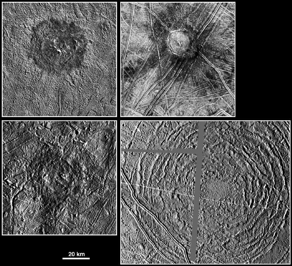 Photos De Europe Satellite De Jupiter ★ Plan 232 Te Astronomie