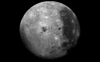"<h1>PIA00225:  Far Side of the Moon</h1><div class=""PIA00225"" lang=""en"" style=""width:800px;text-align:left;margin:auto;background-color:#000;padding:10px;max-height:150px;overflow:auto;""><p>This image of the moon was obtained by the Galileo Solid State imaging system on Dec. 8 at 7 p.m. PST as the Galileo spacecraft passed the Earth and was able to view the lunar surface from a vantage point not possible from the Earth. On the right-hand side of the image is seen the dark maria of Oceanus Procellarum, also visible from the Earth. The dark spots in the center are Mare Orientale, on the western limb of the nearside of the moon, a region barely visible from the Earth. This region and the bright far side highlands on the left have not been seen previously by a camera system such as the one on the Galileo spacecraft, which provides multispectral images of the lunar limb and far side which have not previously been obtained. Comparison of such images to those of the near-side areas from which Apollo astronauts have returned samples will help us understand the spectral properties and composition of the lunar far side.<br /><br /><a href=""http://photojournal.jpl.nasa.gov/catalog/PIA00225"" onclick=""window.open(this.href); return false;"" title=""Voir l'image 	 PIA00225:  Far Side of the Moon	  sur le site de la NASA"">Voir l'image 	 PIA00225:  Far Side of the Moon	  sur le site de la NASA.</a></div>"