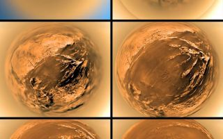 "<h1>PIA08112:  Stereographic View of Titan's Surface</h1><div class=""PIA08112"" lang=""en"" style=""width:800px;text-align:left;margin:auto;background-color:#000;padding:10px;max-height:150px;overflow:auto;""><p><a href=""/figures/PIA08112_fig1.jpg""></a><br />Annotated Stereographic<br />View of Titan's Surface</p><p>This poster shows a stereographic (fish-eye) view of Titan's surface from six different altitudes. The images taken by the European Space Agency's Huygens probe descent imager/spectral radiometer show the haze layer at 20 to 21 kilometers (12 to 13 miles). The images were taken on Jan. 14, 2005.<p></p>The Huygens probe was delivered to Saturn's moon Titan by the Cassini spacecraft, which is managed by NASA's Jet Propulsion Laboratory, Pasadena, Calif. NASA supplied two instruments on the probe, the descent imager/spectral radiometer and the gas chromatograph mass spectrometer. <p></p>The Cassini-Huygens mission is a cooperative project of NASA, the European Space Agency and the Italian Space Agency. The Jet Propulsion Laboratory, a division of the California Institute of Technology in Pasadena, manages the mission for NASA's Science Mission Directorate, Washington, D.C. The descent imager/spectral radiometer team is based at the University of Arizona, Tucson.</p><p>For more information about the Cassini-Huygens mission visit <a href=""http://saturn.jpl.nasa.gov"">http://saturn.jpl.nasa.gov/home/index.cfm</a></p><br /><br /><a href=""http://photojournal.jpl.nasa.gov/catalog/PIA08112"" onclick=""window.open(this.href); return false;"" title=""Voir l'image 	 PIA08112:  Stereographic View of Titan's Surface	  sur le site de la NASA"">Voir l'image 	 PIA08112:  Stereographic View of Titan's Surface	  sur le site de la NASA.</a></div>"